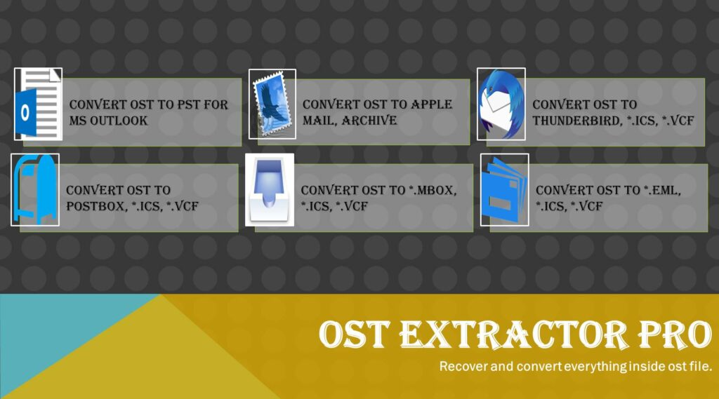 importing ost file to outlook