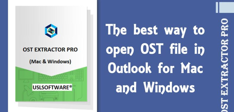 how to open ost in outlook